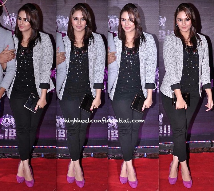 Huma Qureshi At Sridevi 50th Birthday Bash