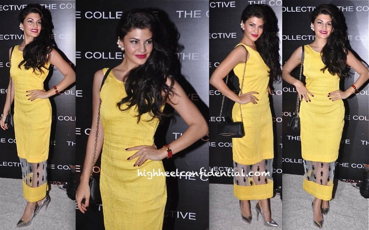 Jacqueline Fernandez In Nikhil Thampi At The Collective-2