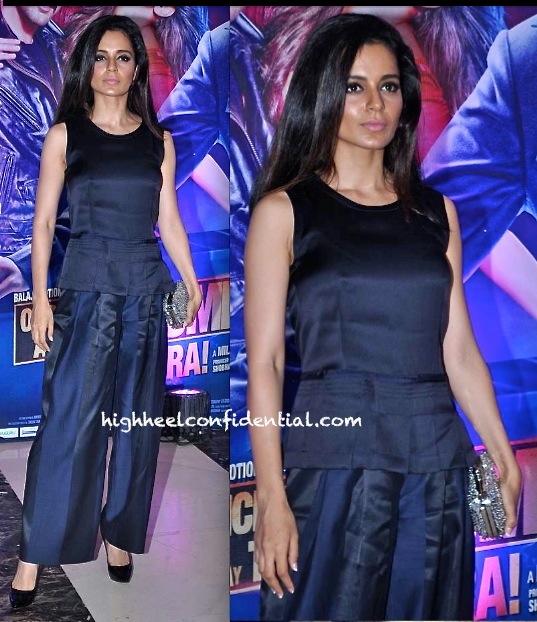 Kangna Ranaut In Giorgio Armani At Ekta Kapoor Iftar Party-1