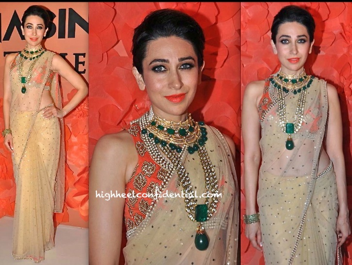 Karisma Kapoor On The Runway For Maheka Mirpuri And Ghanasingh-1