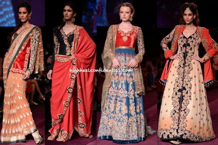LFW A:W 2013- Shyamal And Bhumika-4