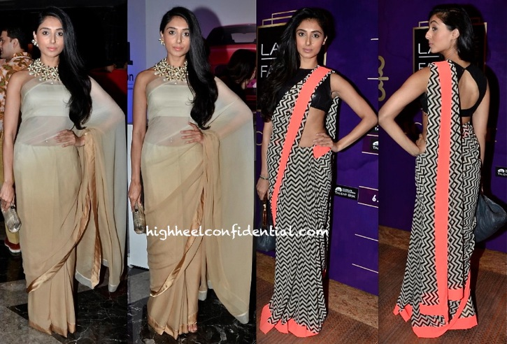 Pernia Qureshi Wears Her Own To Delhi Couture Week 2013 And An Atsu To Lakme Fashion Week 2013-1