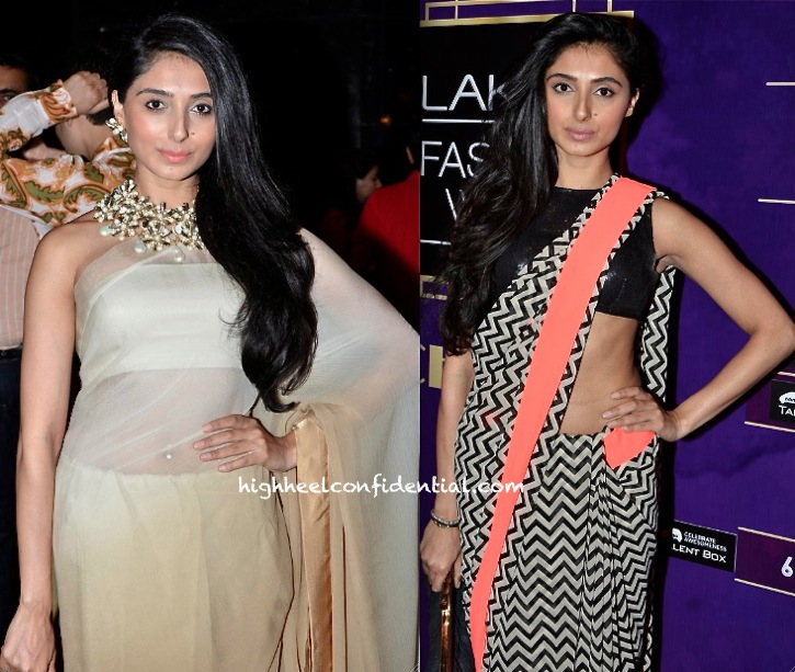 Pernia Qureshi Wears Her Own To Delhi Couture Week 2013 And An Atsu To Lakme Fashion Week 2013-2