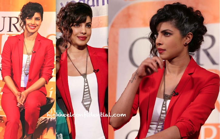 Priyanka Chopra In Zara At Our Girls Our Pride Event-1