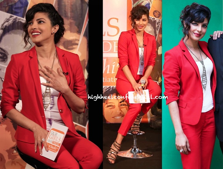 Priyanka Chopra In Zara At Our Girls Our Pride Event-2