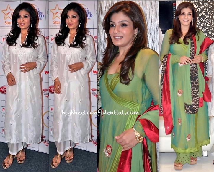 Raveena Tandon At Zaira Diamond Store Launch And At Saath Hain Hum Uttarakhand Fundraiser