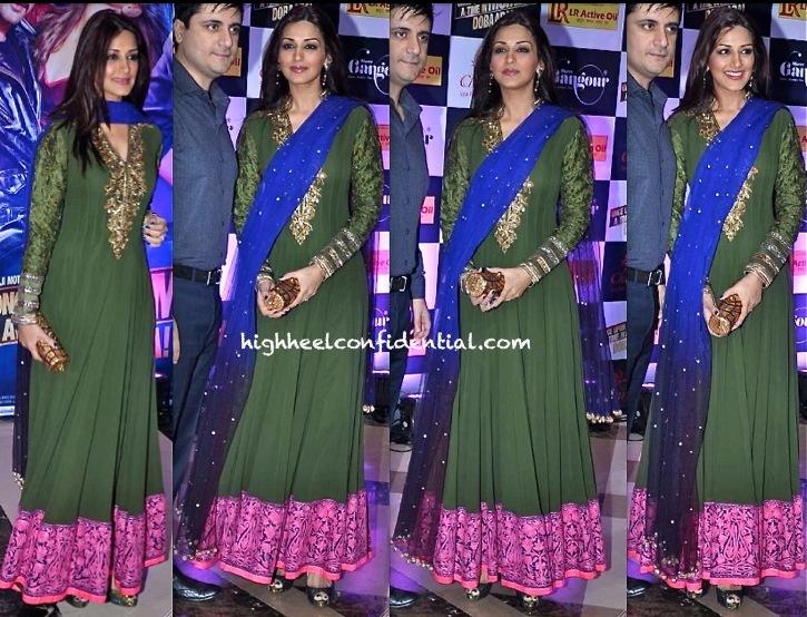 Sonali Bendre In Manish Malhotra At Ekta Kapoor's Iftar Party-1