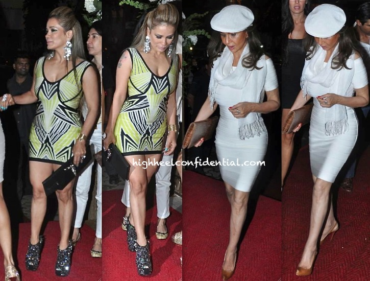 avanti birla and parmeshwar godrej in herve leger at queenie dhody store launch-2