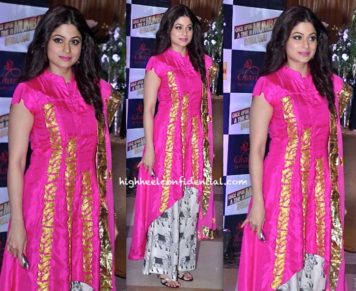 ekta kapoor iftar party-shamita shetty in masaba