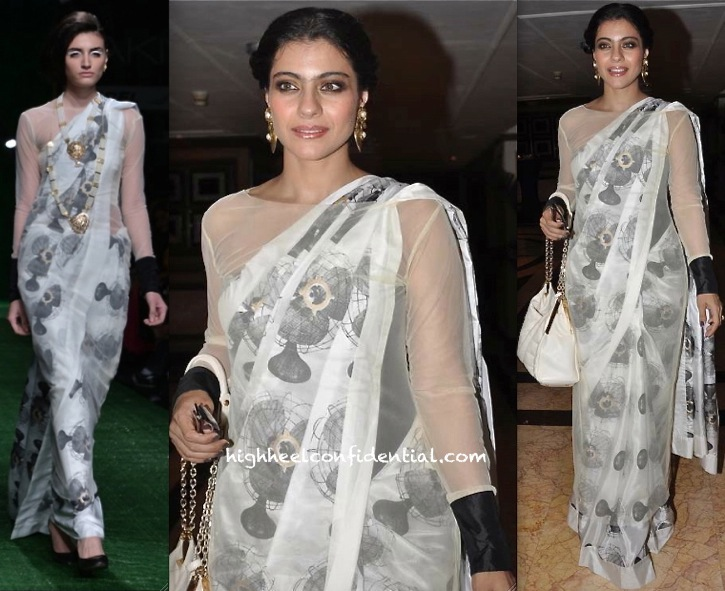 kajol at tanisha play the verdic in masaba-1