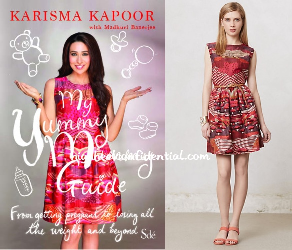karisma-kapoor-pankaj-nidhi-yummy-mummy-guide-book-dress
