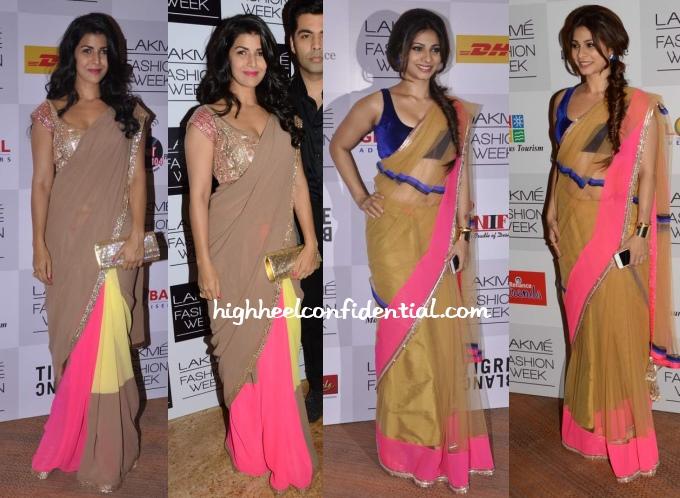 nimrat-kaur-tanishaa-manish-malhotra-lakme-fashion-week-2013
