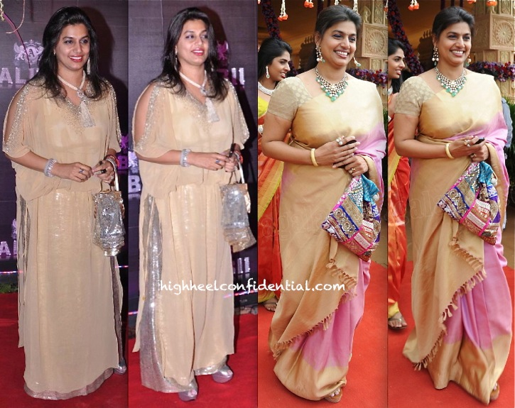 pinky reddy at a wedding in hyderabad and at sridevi birthday bash