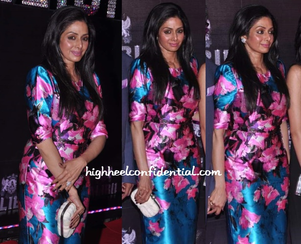sridevi-prabal-gurung-birthday-bash-50th-floral-dress
