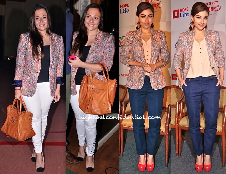 Avantika Malik In Zara At Ashvin Gidwani Battle Of Da Sexes-Soha Ali Khan at spelling bee