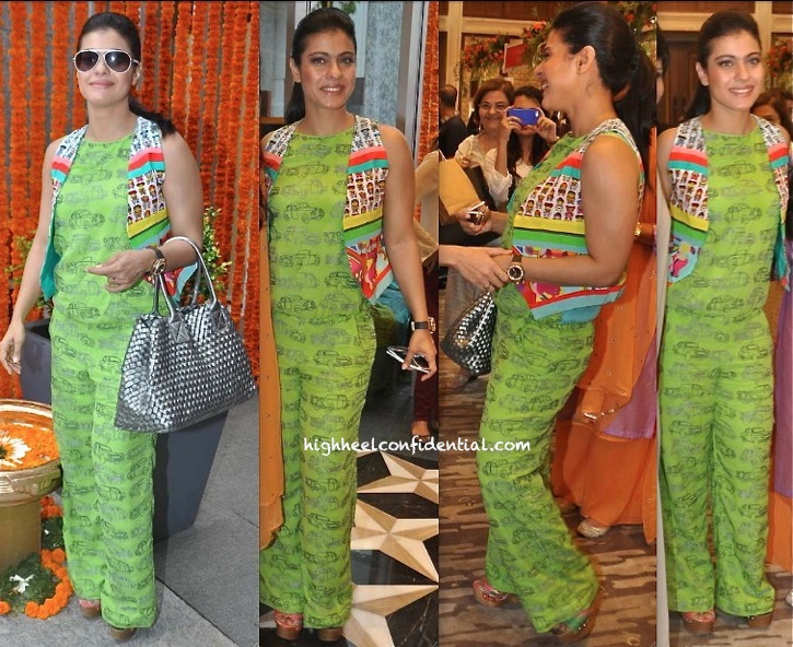 Kajol In Quirk Box At Araaish 2013-1