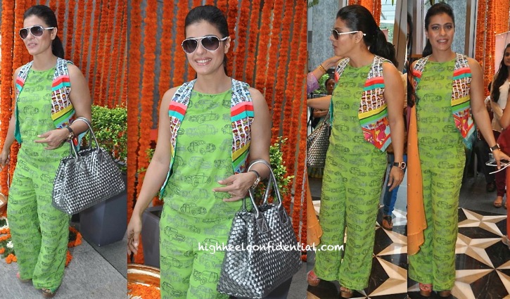 Kajol In Quirk Box At Araaish 2013-2