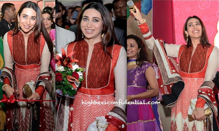 Karisma Kapoor Wears Ekru To Vibrant Vivah Event In Ahmedabad-2