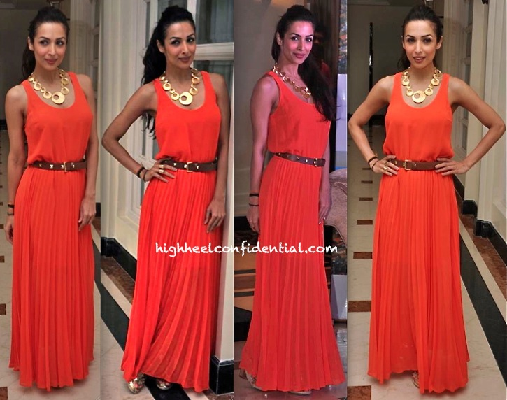 Malaika Arora Khan In Michael By Michael Kors At 'Indian Film Festival Of Melbourne' Press Meet