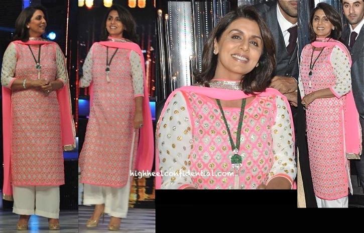 Neetu Singh Kapoor On Jhalak Dikhhla Jaa Sets In Abu Sandeep-2