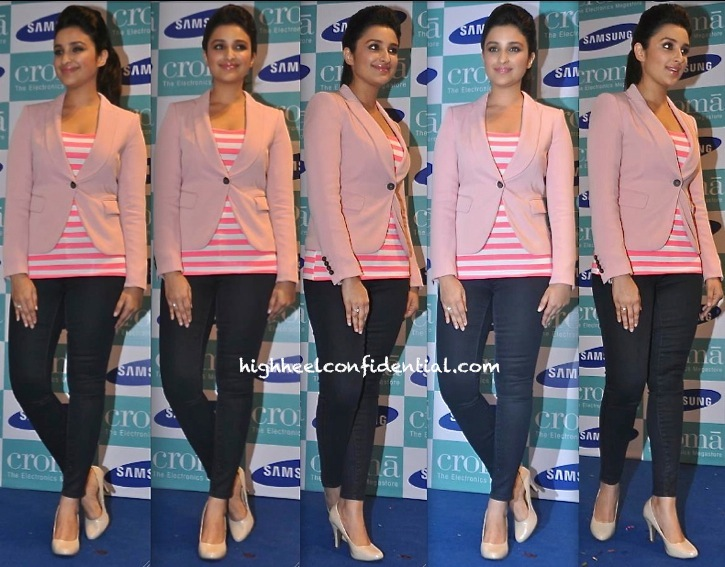 Parineeti Chopra In Zara At Samsung Galaxy Note 3 Launch