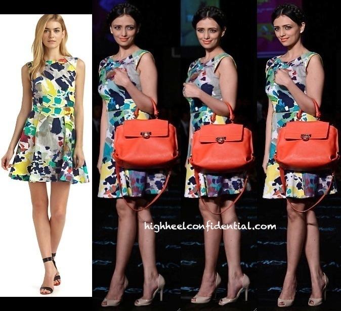 Roshni Chopra In Rachel Roy On Day 5 Of Lakme Fashion Week Winter:Festive 2013-1