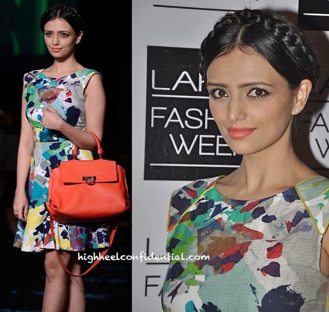 Roshni Chopra In Rachel Roy On Day 5 Of Lakme Fashion Week Winter:Festive 2013-2