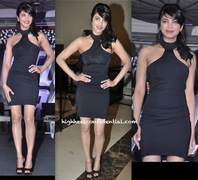 Shruti Haasan at welcome back moie launch-1