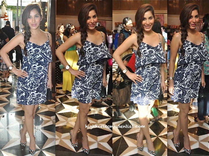 Sophie Choudry In Intermix At Araaish 2013