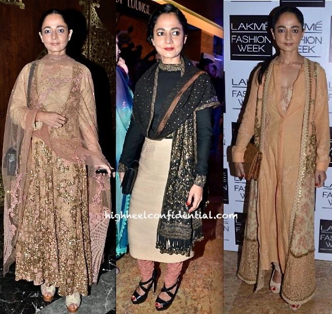sabina chopra in sabyasachi at delhi couture week 2013 and at lakme fashion week 2013
