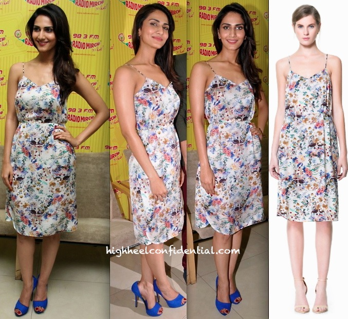 vaani kapoor in zara at radio mirchi for Shuddh Desi Romance promotion