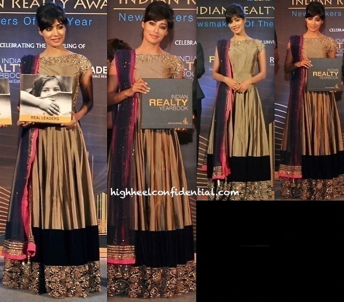 Chitrangda Singh In Manish Malhotra At Indian Realty Yearbook Launch