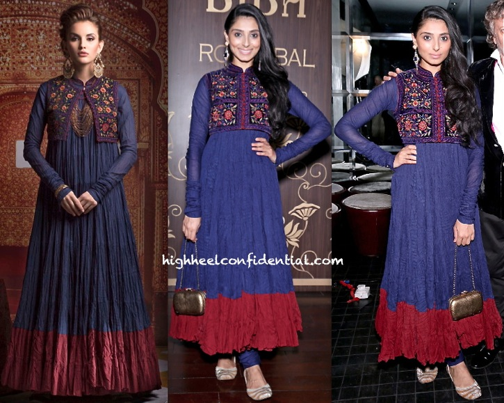 Pernia Qureshi At Rohit Bal For Biba Collection Launch-Preview Event