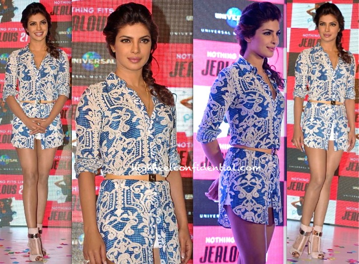 cee945adb2d Priyanka Chopra At Jealous 21 In Not So Serious By Pallavi Mohan for  exotic-1