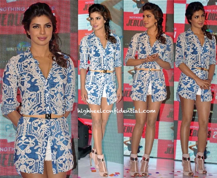 e83597d6146 Priyanka Chopra At Jealous 21 In Not So Serious By Pallavi Mohan for  exotic-2