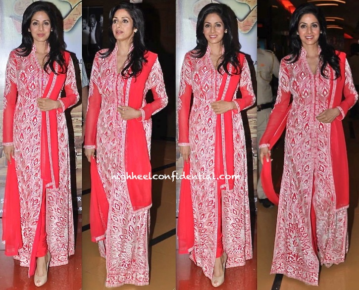 Sridevi In Abu Jani Sandeep Khosla At A Movie Premiere-1