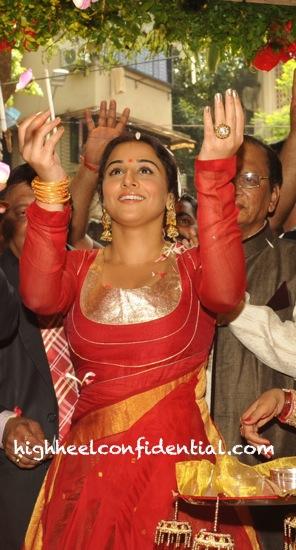 Vidya Balan In Vaishali S At Ranka Jewellers Store Launch-1