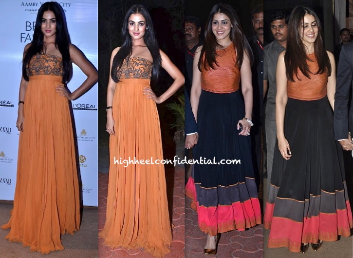 In Shantanu & Nikhil- Genelia D\'Souza And Sonal Chauhan At India ...