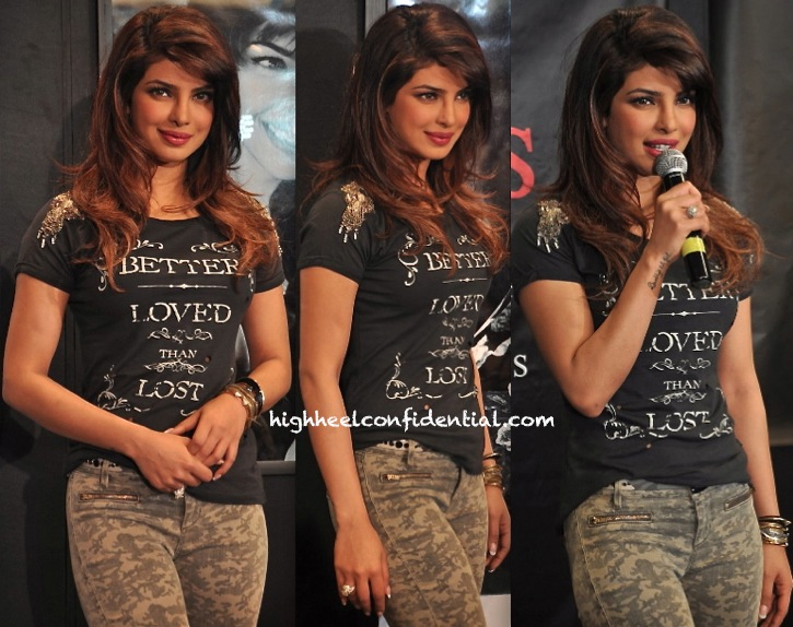 7ef996d6a05 Priyanka Chopra At Guess  Latest Collection Launch Unveiling-2
