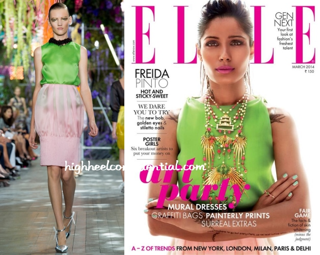 Freida on Elle: (Un)Covered - High Heel Confidential