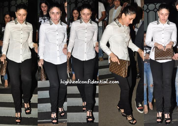 7d094d5eb72d Kareena Kapoor Photographed Exiting Nido In Mumbai