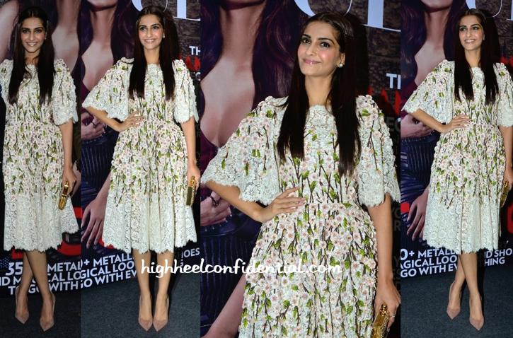 63aa13399da7 Sonam Kapoor In Dolce   Gabbana At Vogue India s Fashion s ...