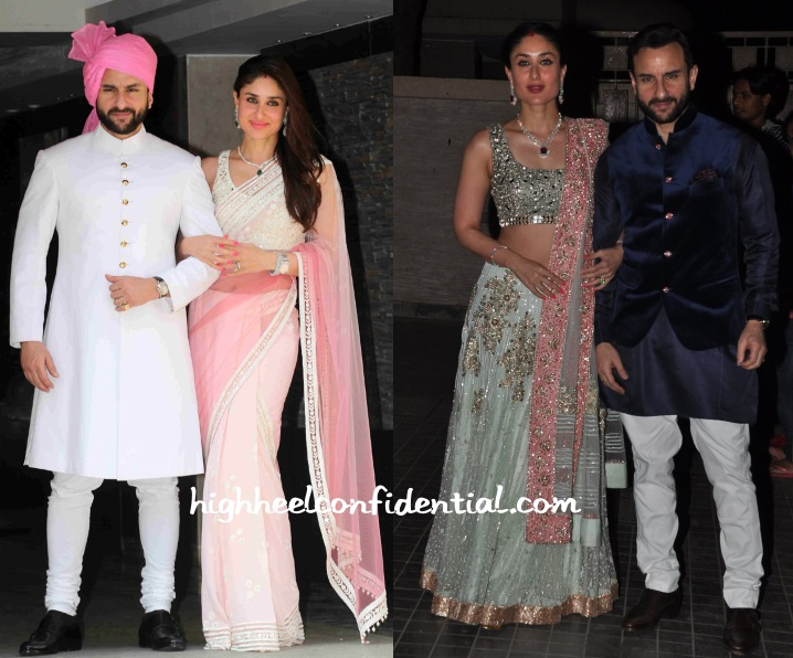 Kareena Kapoor Manish Malhotra Soha Kunal Wedding