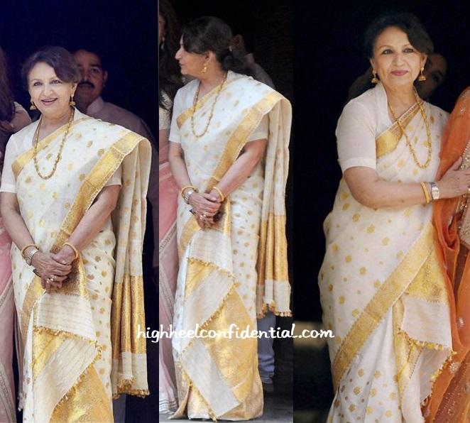 Sharmila Tagore Soha Kunal Wedding