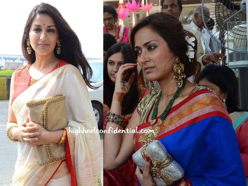 Sari Style High Heel Confidential