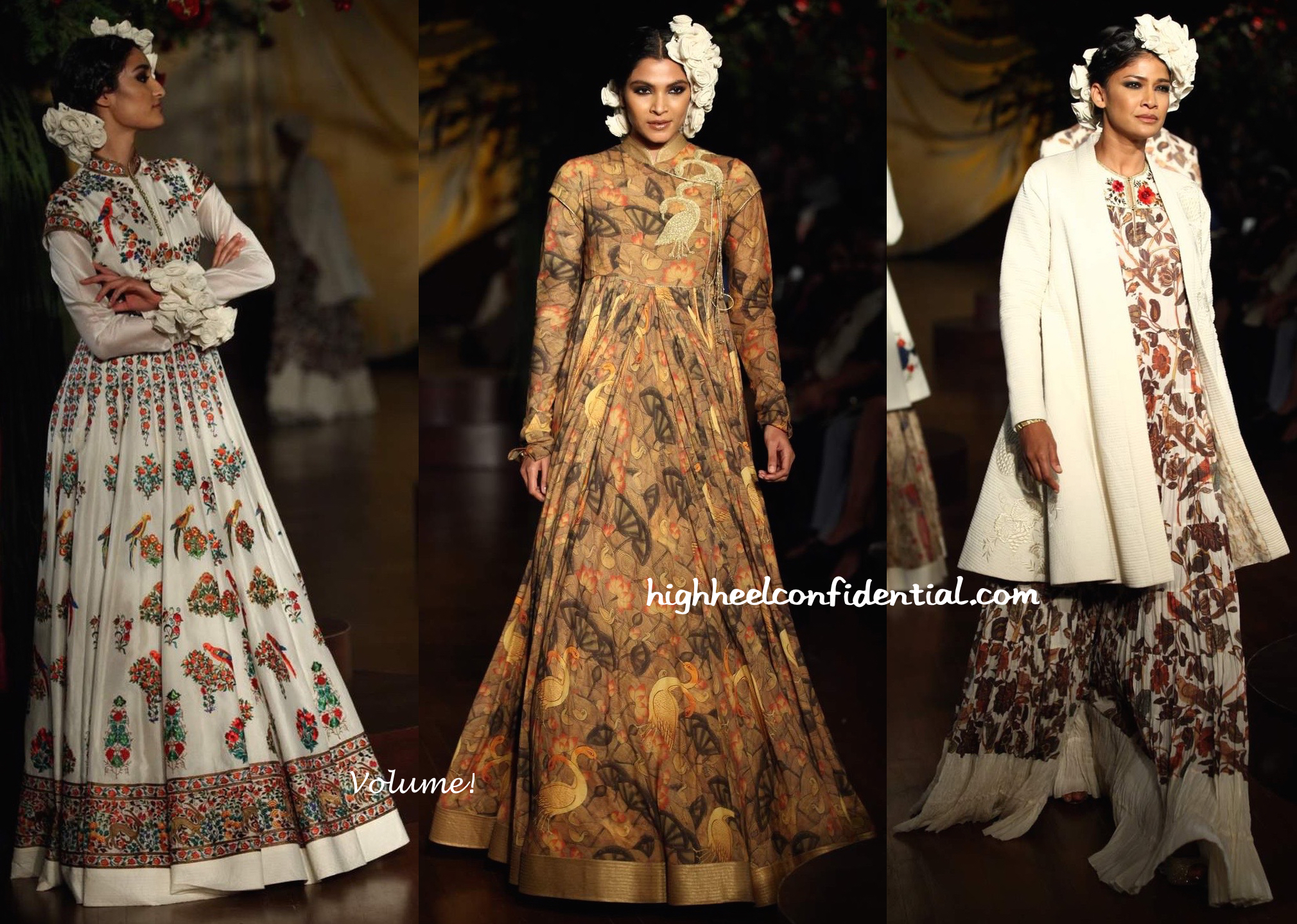 Icw 2015 rohit bal high heel confidential for High couture