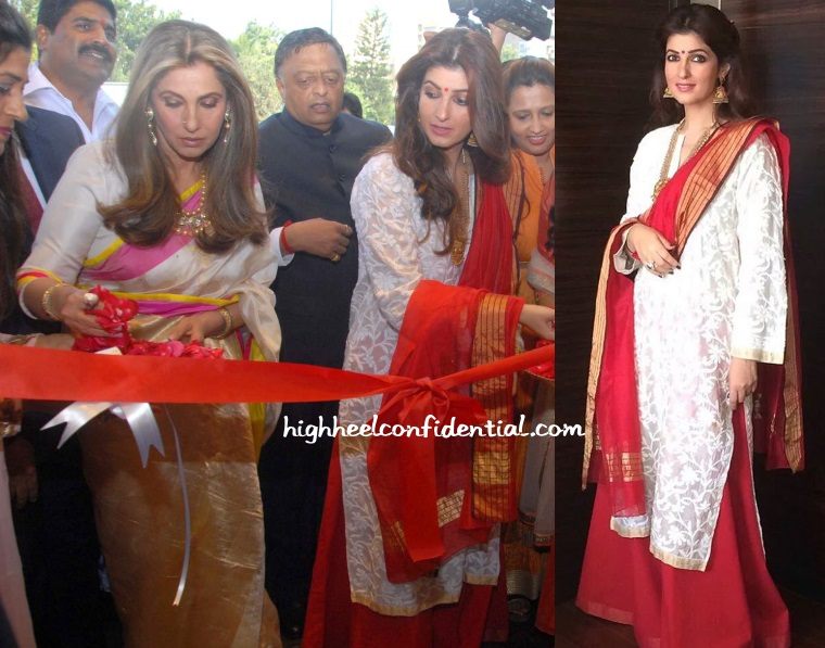 Doing desi high heel confidential for Interior designs by twinkle khanna