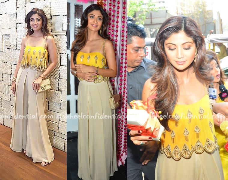 Mehndi Ceremony Of Shilpa Shetty : In arpita mehta high heel confidential