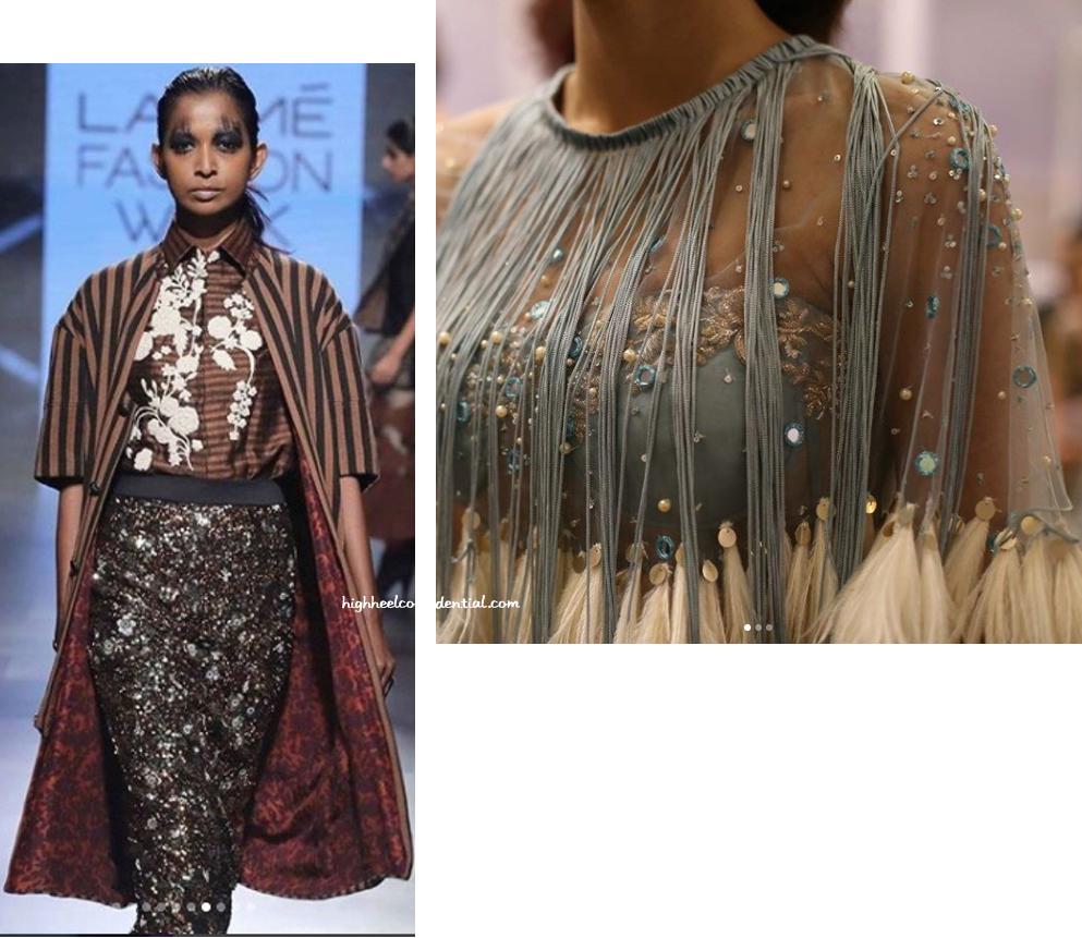 Lakme Fashion Week Winter Festive 2017 Top 5 Looks High Heel Confidential