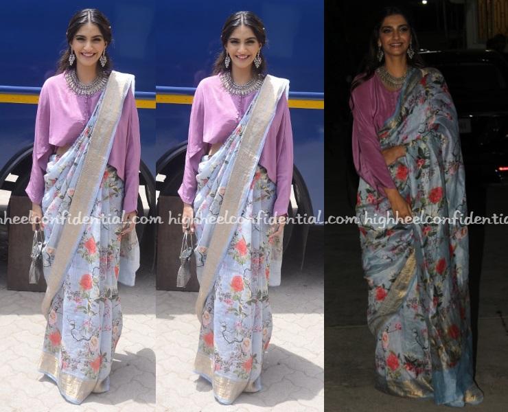Sari Style - High Heel Confidential